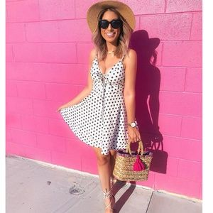 Dresses & Skirts - Polka Dot Flare dress casual